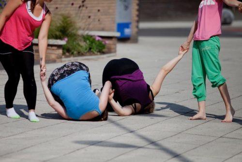 outdoor dance photo