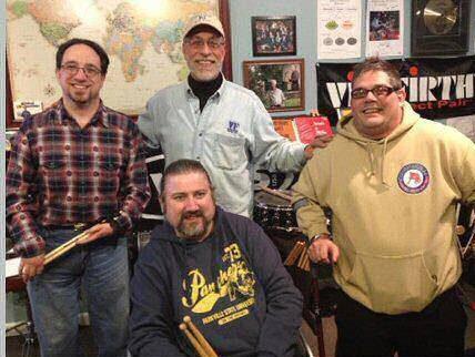 Can-Do Muso's Board of Directors: David Segal, Dom Famularo, Andrew Hewitt, Michael Mignogna