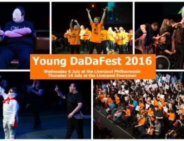 Collage of acts from Young DaDaFest