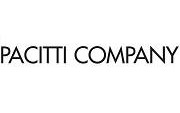 Pacitti Company's logo featuring black text