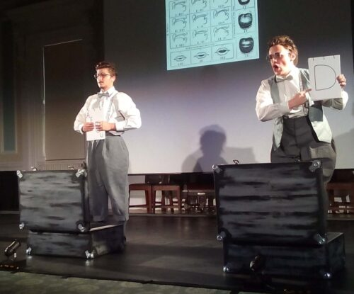 Antony Snowden and Shane Dennis Pearson of Deaf Men Dancing.