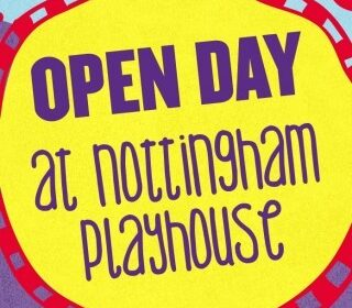 Open Day at Nottingham Playhouse flyer