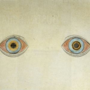 August Natterer My Eyes in the Time of Apparition (1913)