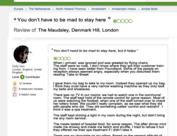 Psychiatric Hospital Tripadvisor Review