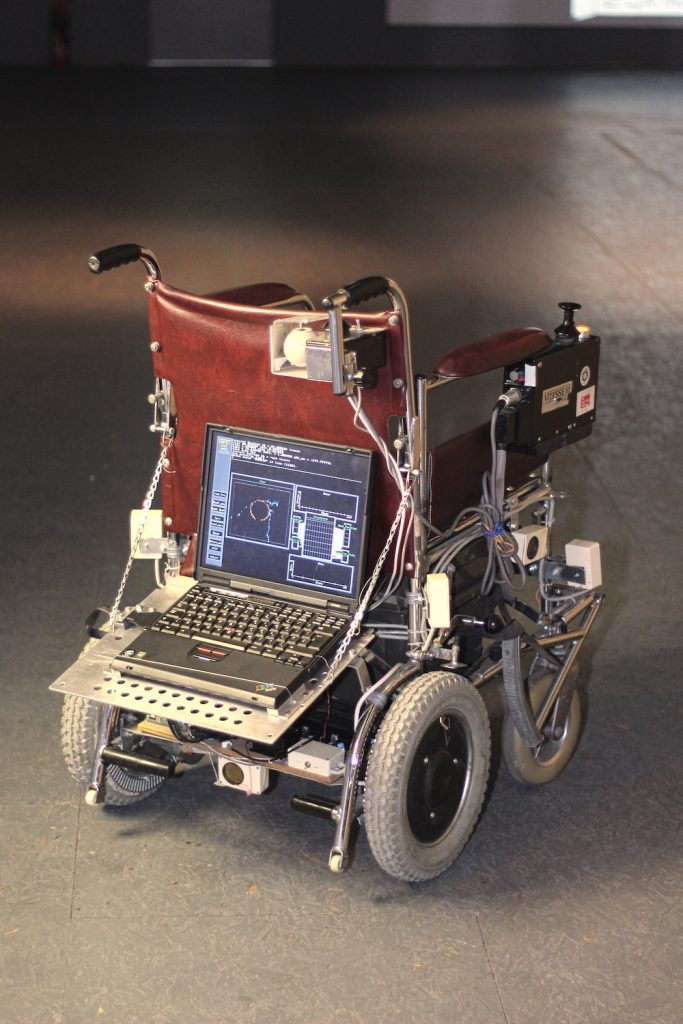 Photo of an electric wheelchair