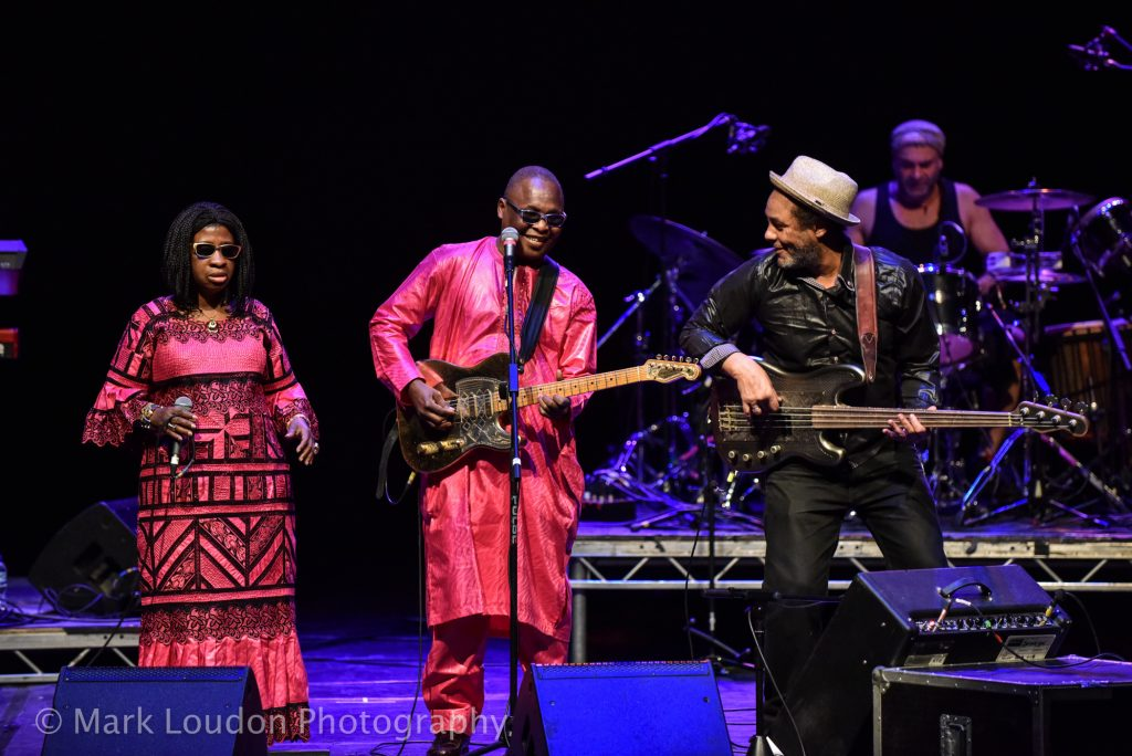 Amadou and Mariam on stage