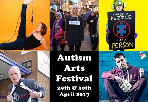 Autism Arts Festival Advert