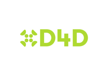 D4D logo in green