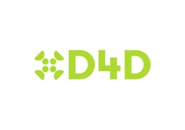 D4D logo in green