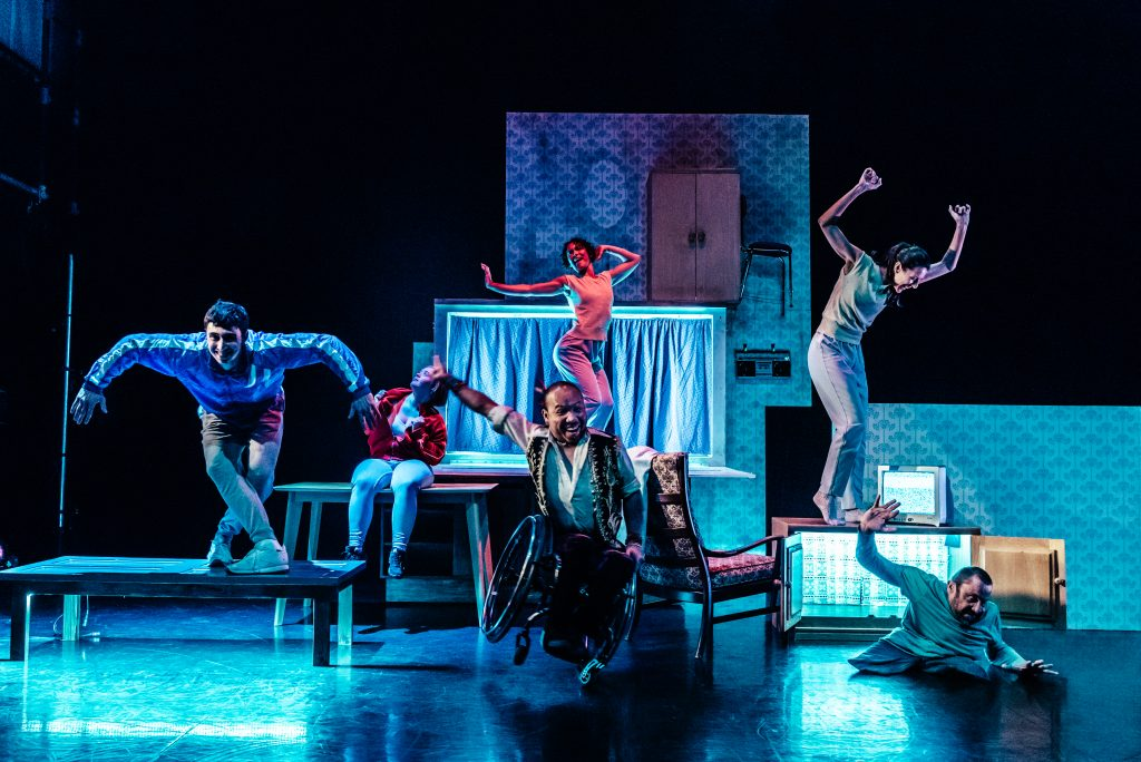 Stopgap Dance Company's The Enormous Room group shot
