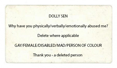 Delete Where Applicable by Dolly Sen