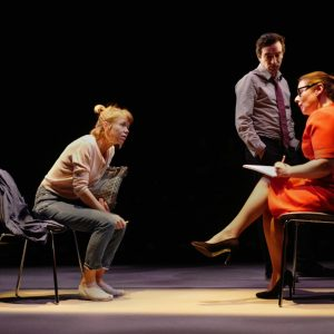 Anna Maxwell Martin and Heather Craney in Consent