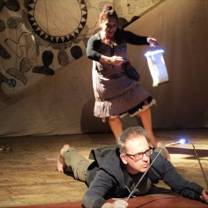 Isolte Avila and David Bower from Signdance Collective