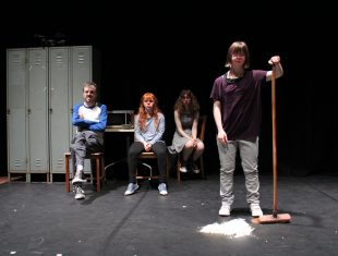 Mind the Gap's Mia: Daughters of Fortune production shot