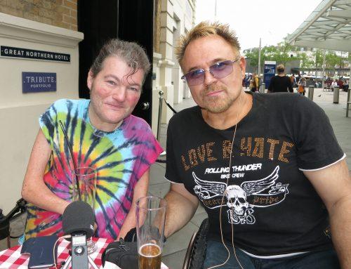 John Kelly and Mik Scarlett
