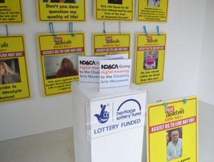 NDACA Display at Bucks New University
