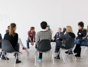 Group meeting at Turner contemporary