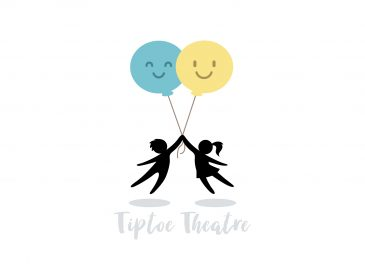 Tiptoe theatre logo