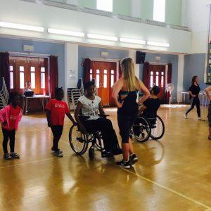 Step Change Studios inclusive dance class