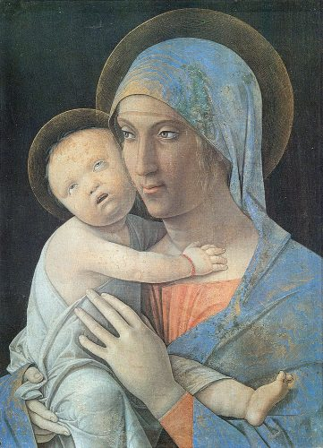 Andrea Mantegna Virgin and Child