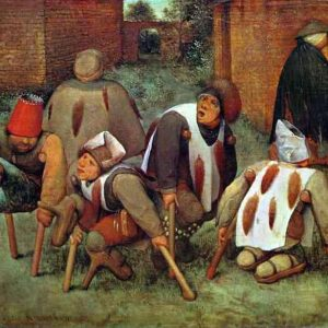 Pieter Bruegel the Elder (1568) The Blind Leading the Blind