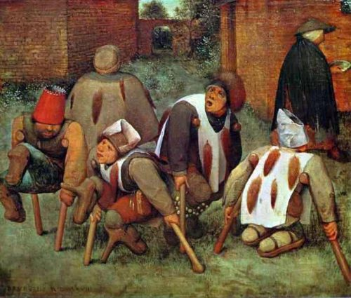 Pieter Bruegel the The Beggars (1568)