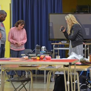 A filmmaking workshop with 4 participants