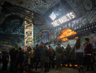 Photo of the underground performing art space