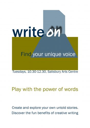 Write On workshop flyer
