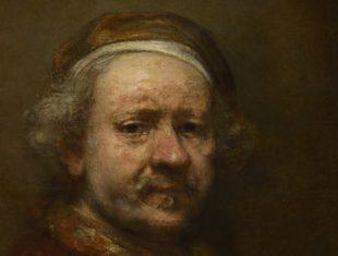 Rembrandt, Self Portrait