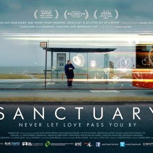 flyer for the Irish film Sanctuary