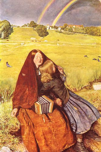 Millais Blind Girl painting