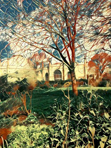 Giclee print 42 x 31 cm of the Royal Pavilion, Brighton