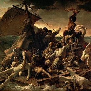 Géricault, Raft of the Medusa, oil painting