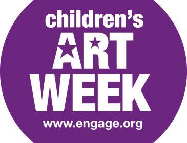 Children's Art Week logo