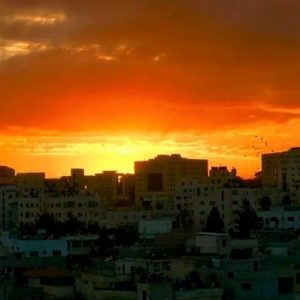 Gaza sunset