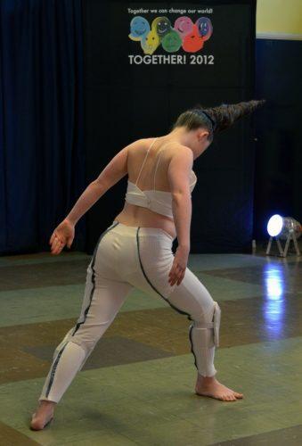 Lauren Payne dancing