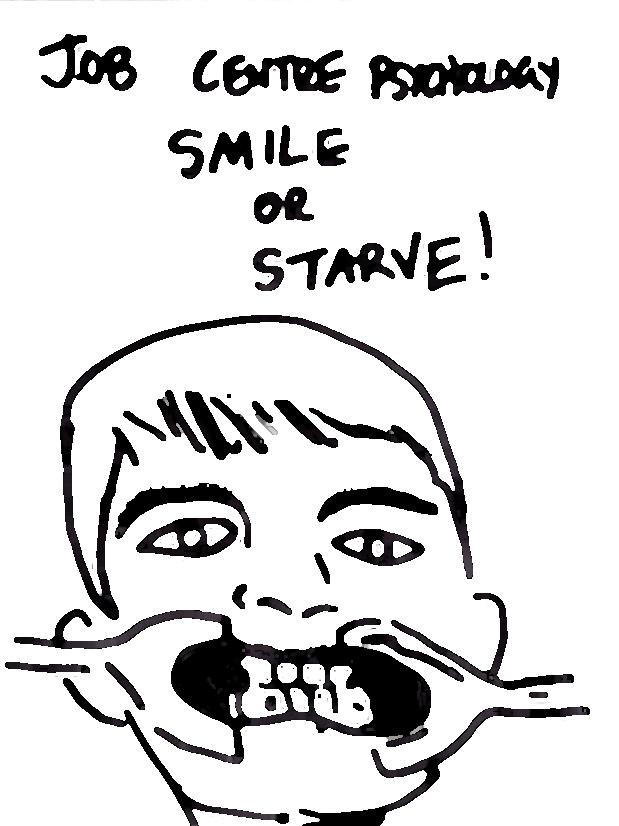 smile or starve