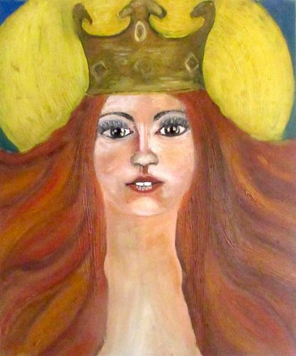 Zara Bradley's painting 'Adornments 2'