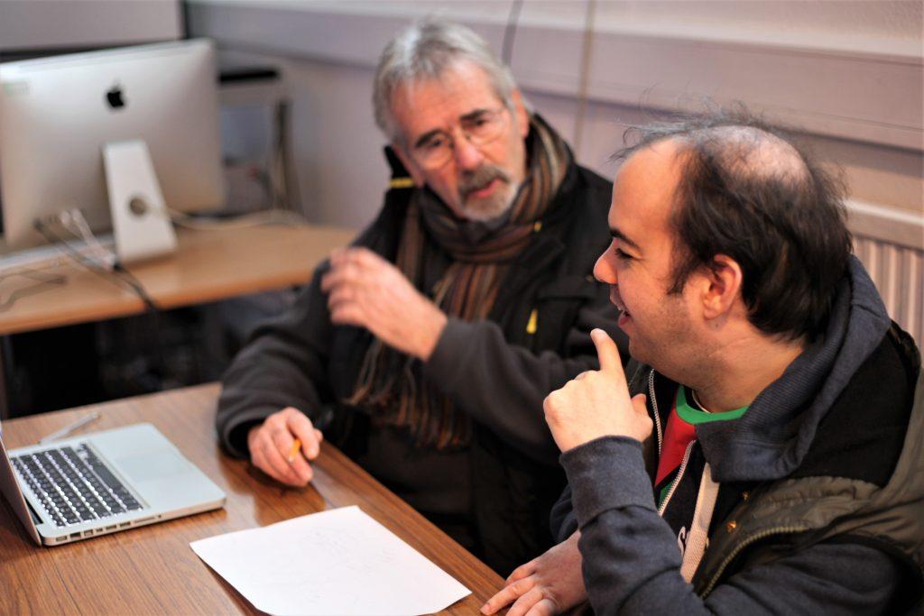 Russell Highsmith with Mark Ralph Bowman