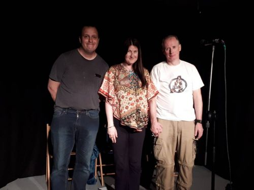 Stealth Aspies: Alain English, Sarah Saeed, Paul Wady