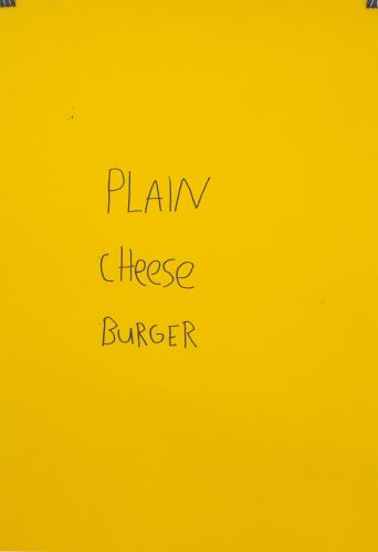Plain Cheese Burger