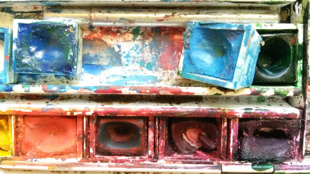 Picture of a paintbox