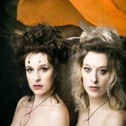 Headshot of two female performers