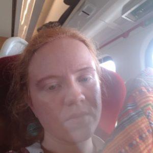 Emma Robdale self-portrait