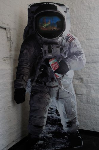 Image of an astronaut wearing a space suit