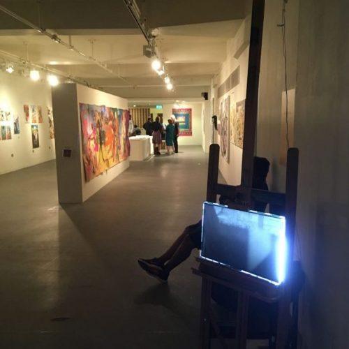 Unlimited Visual Art Exhibition shot