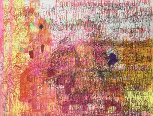 Garrol Gayden, Lasagne, text-based artwork