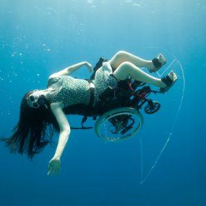 Sue Austin underwater wheelchair