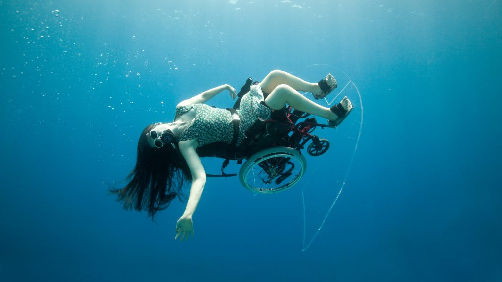 Sue Austin underwater wheelchair